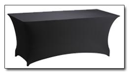 Huren buffettafel met zwarte rok in Assen