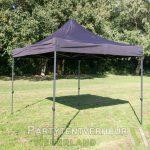 Easy up tent 3x3 meter schuin huren - Partytentverhuur Assen