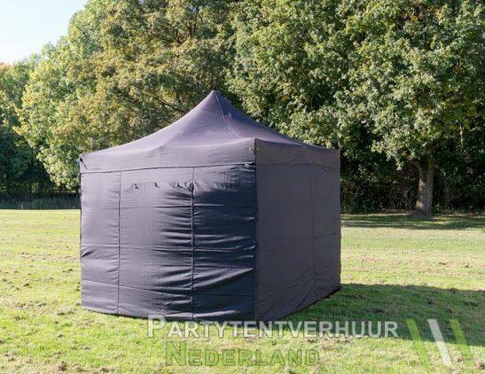Easy up tent 3x3 meter voorkant huren - Partytentverhuur Assen