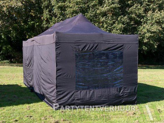 Easy up tent 3x6 meter achterkant huren - Partytentverhuur Assen
