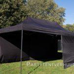 Easy up tent 3x6 meter binnenkant huren - Partytentverhuur Assen