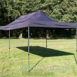 Easy up tent 3x6 meter schuin voorkant huren - Partytentverhuur Assen