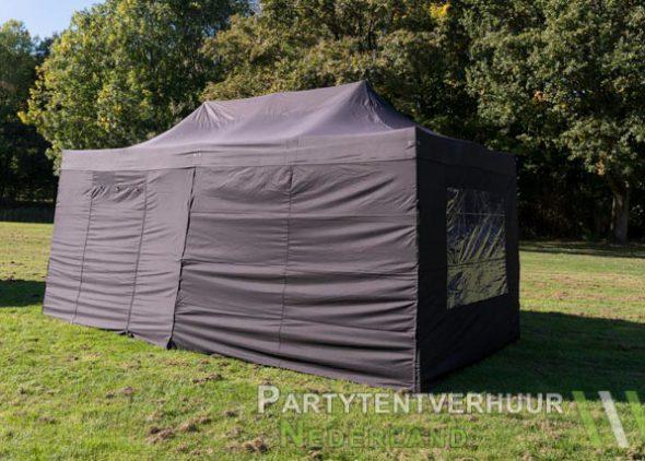 Easy up tent 3x6 meter zijkant huren - Partytentverhuur Assen