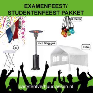Huur het examenfeestpakket in Assen.