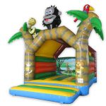 Jungle Springkussen 5x4m huren in Assen