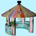 Opblaasbare-coconut-bar-tent-huren-Assen
